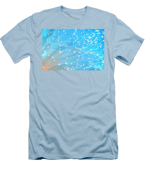 Men's T-Shirt (Slim Fit) featuring the photograph The Wind by Dazzle Zazz