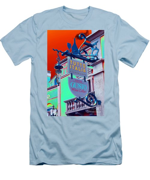 Men's T-Shirt (Slim Fit) featuring the photograph The Wine Cellar II by Robert Meanor