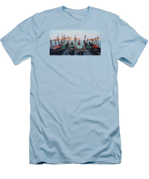Tied Up In Venice Men's T-Shirt (Athletic Fit)