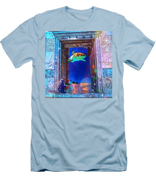 Time Portal Men's T-Shirt (Athletic Fit)