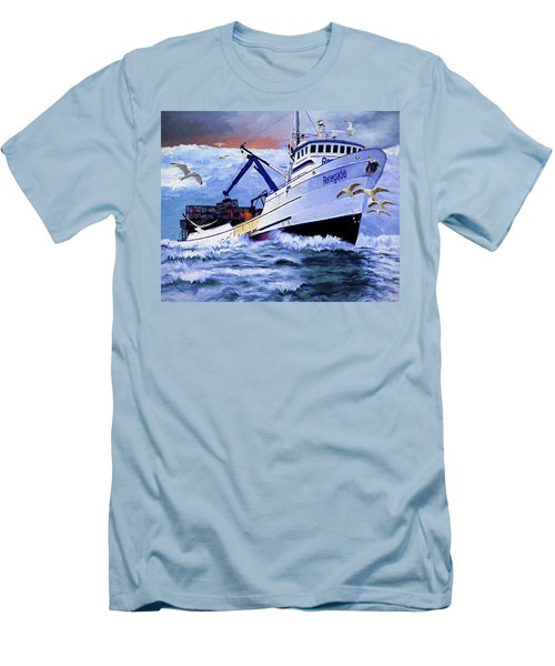 Time To Go Home Men's T-Shirt (Athletic Fit)