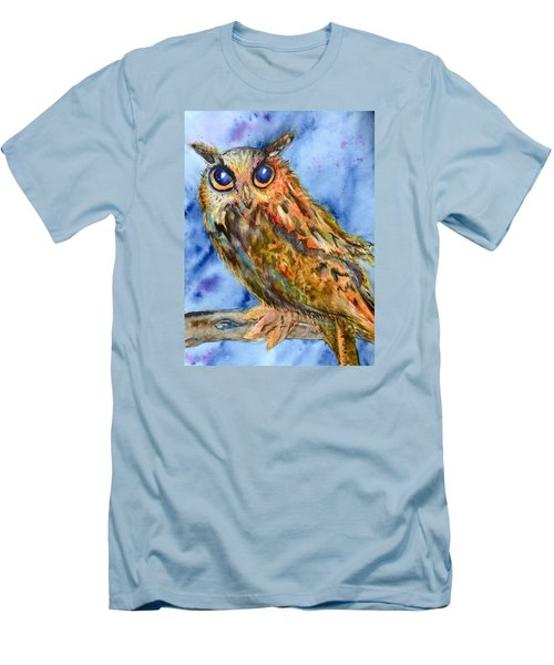 Men's T-Shirt (Slim Fit) featuring the painting Too Cute by Beverley Harper Tinsley