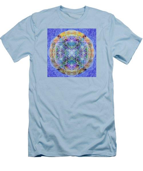 Torusphere Synthesis Interdimensioning Soulin Iv Men's T-Shirt (Slim Fit) by Christopher Pringer