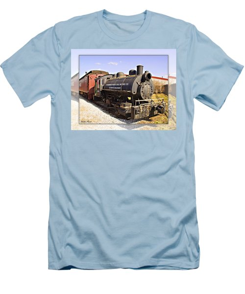 Train Men's T-Shirt (Slim Fit) by Walter Herrit