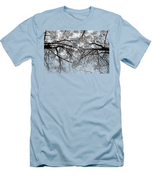 Trees  1 Men's T-Shirt (Athletic Fit)