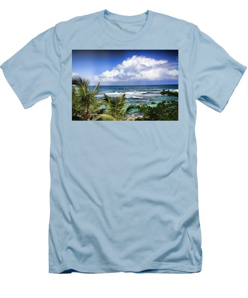 Tropical Dreams Men's T-Shirt (Athletic Fit)