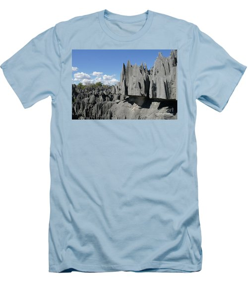 Tsingy De Bemaraha Madagascar 2 Men's T-Shirt (Slim Fit) by Rudi Prott