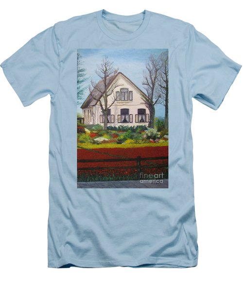 Tulip Cottage Men's T-Shirt (Athletic Fit)
