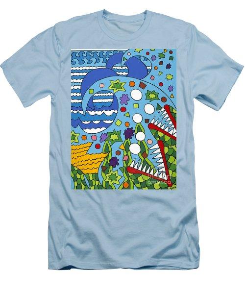 Tumbled Men's T-Shirt (Athletic Fit)