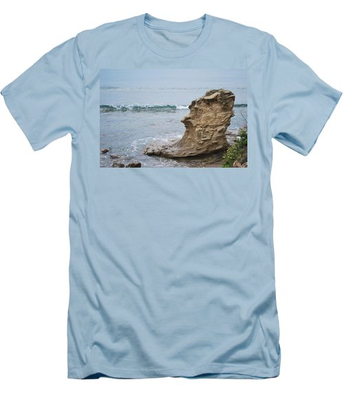 Turquoise Sea Men's T-Shirt (Athletic Fit)