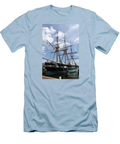 U S S  Constellation Men's T-Shirt (Athletic Fit)