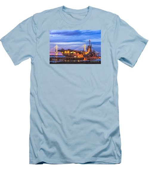 Uss Yorktown Museum Men's T-Shirt (Slim Fit) by Jerry Fornarotto