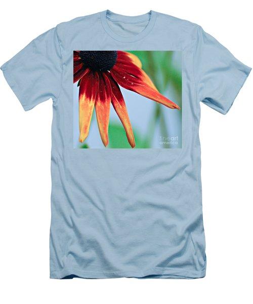Velvet Petals Men's T-Shirt (Slim Fit) by Kerri Farley