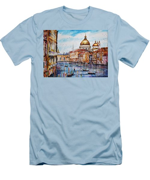 Venetian Paradise Men's T-Shirt (Athletic Fit)