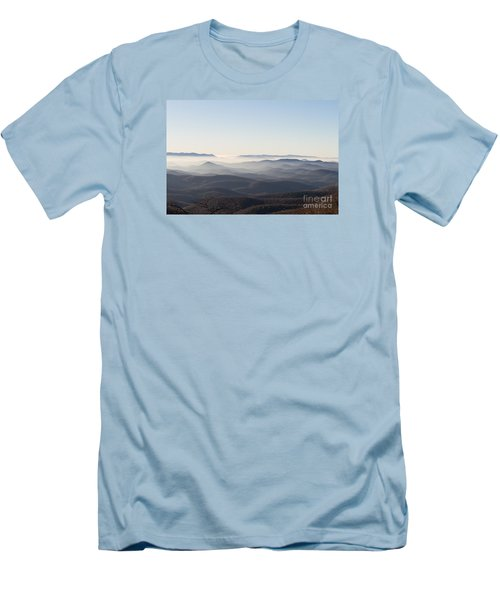 View From Blood Mountain Men's T-Shirt (Slim Fit) by Paul Rebmann