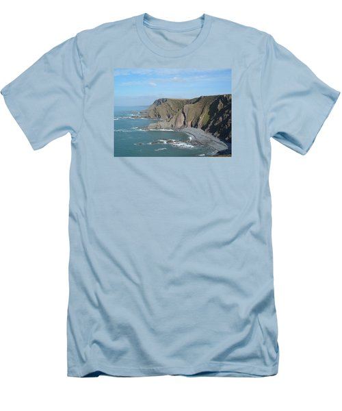 Higher Sharpnose Point Men's T-Shirt (Slim Fit) by Richard Brookes