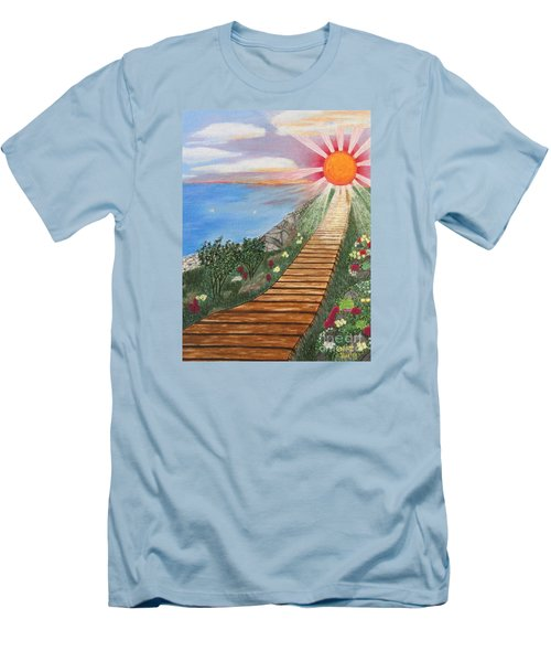 Waking Up Love Men's T-Shirt (Athletic Fit)