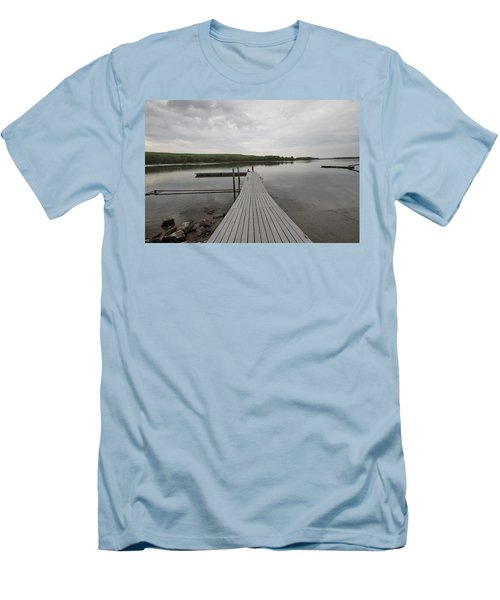 Walking The Plank Men's T-Shirt (Athletic Fit)