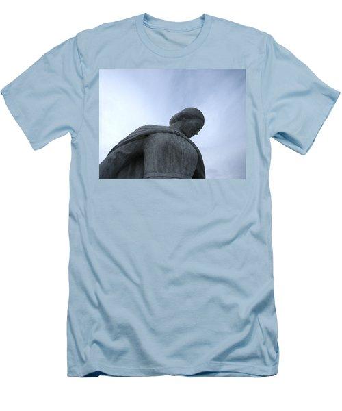 War Memorial  Men's T-Shirt (Slim Fit) by Cheryl Hoyle