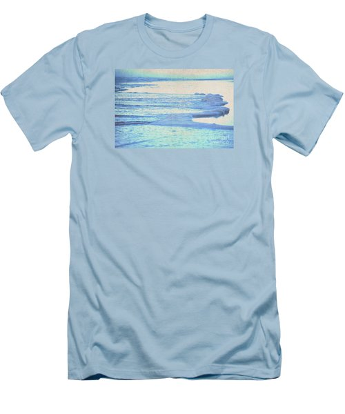 Men's T-Shirt (Slim Fit) featuring the photograph Washed Away by Cynthia Lagoudakis