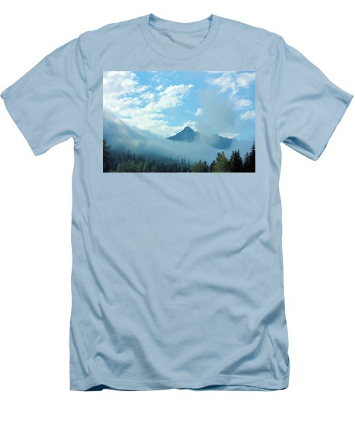 Men's T-Shirt (Slim Fit) featuring the photograph Washington State by Kristin Elmquist