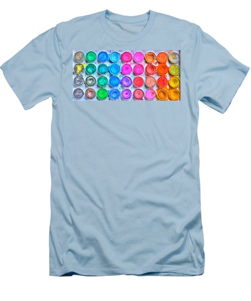 Watercolor Men's T-Shirt (Athletic Fit)