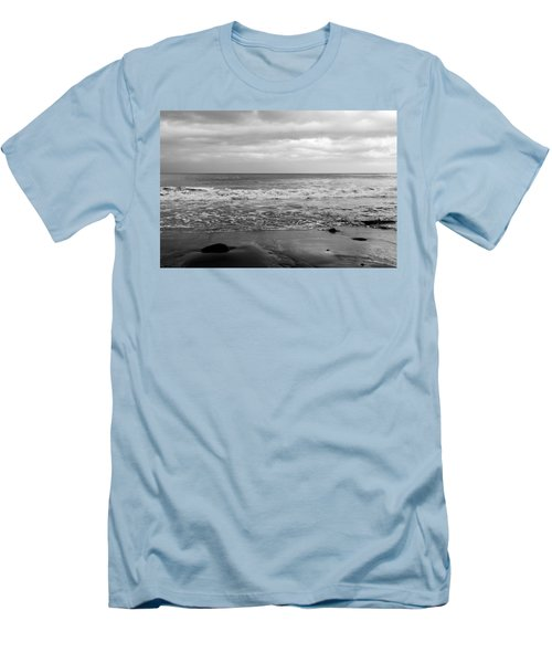 Waves Rolling In  Men's T-Shirt (Athletic Fit)