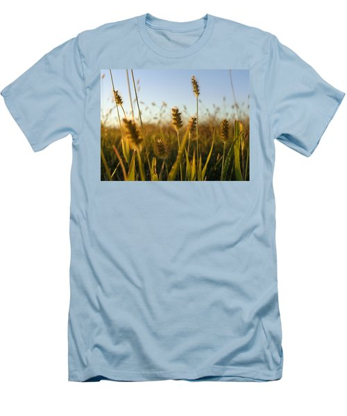 Men's T-Shirt (Slim Fit) featuring the photograph Weeds by Joseph Skompski