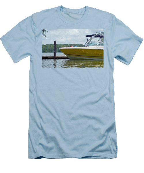 Men's T-Shirt (Slim Fit) featuring the photograph Weekend Fun by Charles Beeler