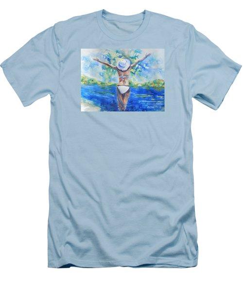 What Lies Ahead Series Forgive Men's T-Shirt (Athletic Fit)
