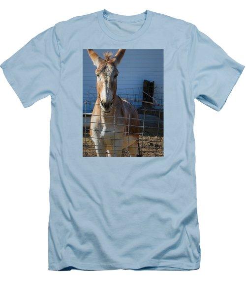 What's Up Men's T-Shirt (Slim Fit) by Nadalyn Larsen