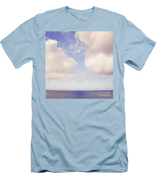 When Clouds Meet The Sea Men's T-Shirt (Athletic Fit)