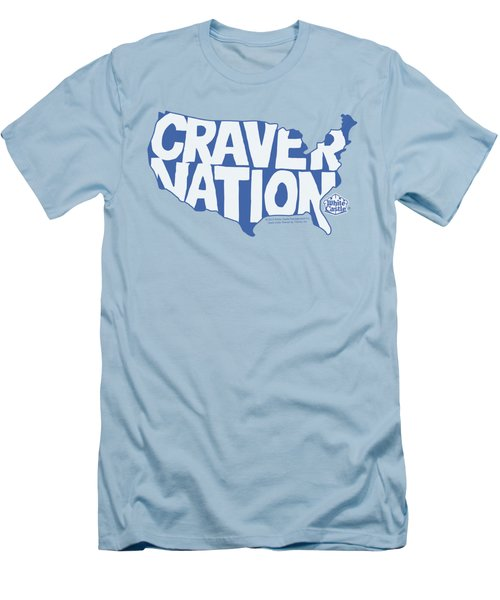 White Castle - Craver Nation Men's T-Shirt (Athletic Fit)