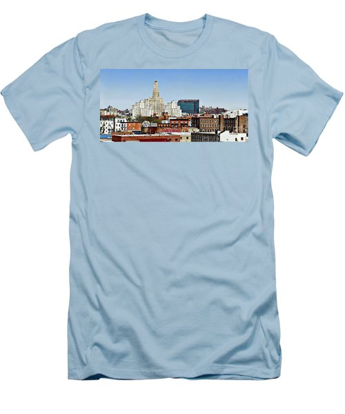 Williamsburg Savings Bank In Downtown Brooklyn Ny Men's T-Shirt (Athletic Fit)