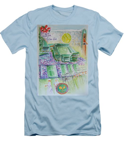 Wimbledon 2014 Men's T-Shirt (Athletic Fit)