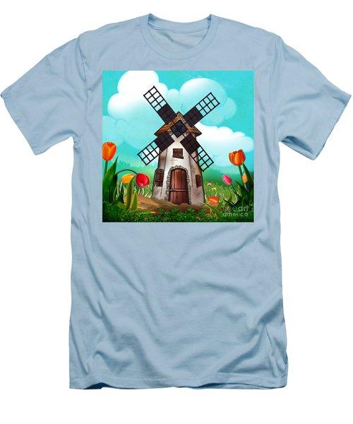Windmill Path Men's T-Shirt (Athletic Fit)