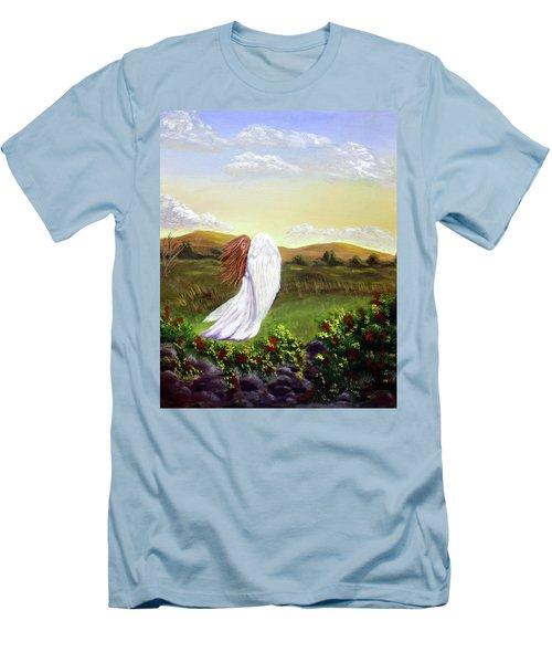 Windswept Angel Men's T-Shirt (Athletic Fit)