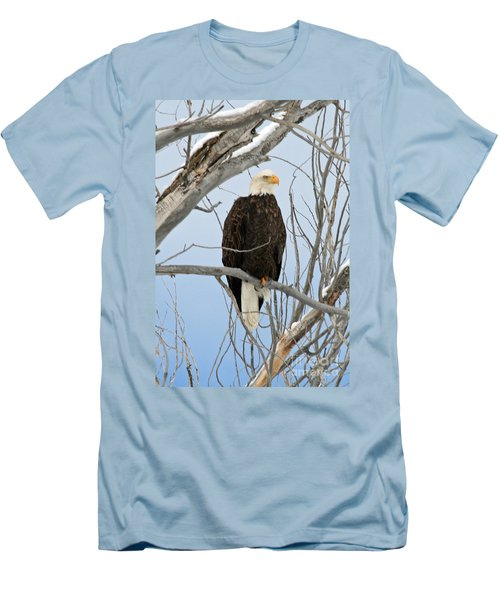 Winter Perch Men's T-Shirt (Athletic Fit)