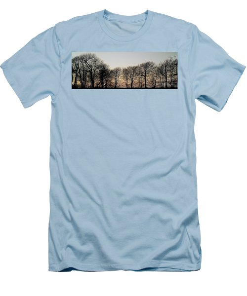 Winter Skyline Men's T-Shirt (Athletic Fit)