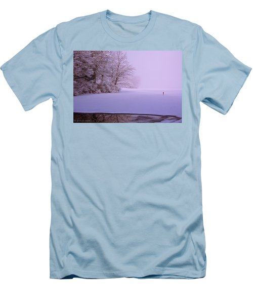 Men's T-Shirt (Slim Fit) featuring the photograph Winter Solstice by Brenda Jacobs
