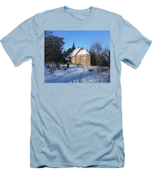 Winter Worship Men's T-Shirt (Athletic Fit)