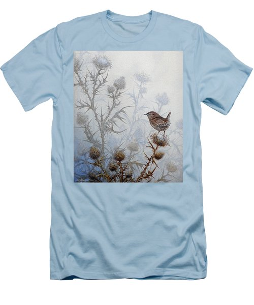 Winter Wren Men's T-Shirt (Athletic Fit)