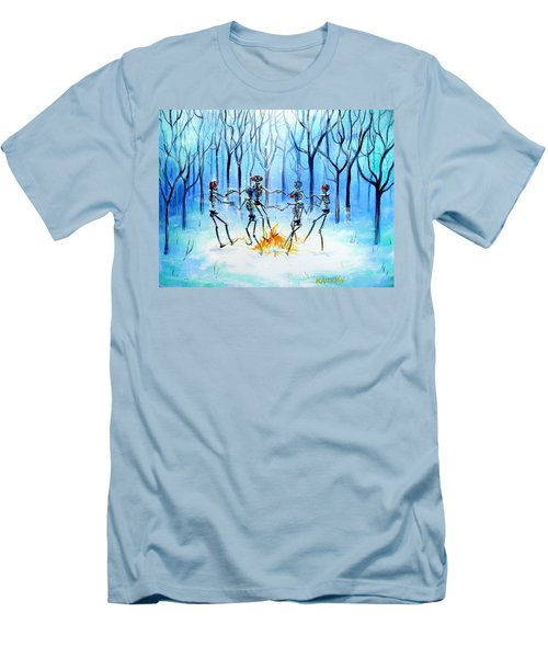 Men's T-Shirt (Slim Fit) featuring the painting Wonderland Ring by Heather Calderon