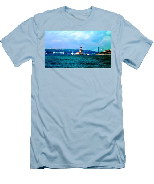 Wonders Of Istanbul Men's T-Shirt (Athletic Fit)