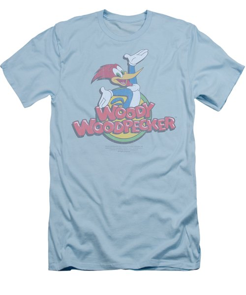 Woody Woodpecker - Retro Fade Men's T-Shirt (Slim Fit) by Brand A