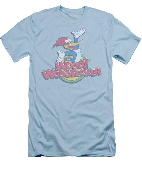 Woody Woodpecker - Retro Fade Men's T-Shirt (Athletic Fit)
