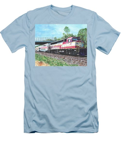 Worcester Bound T Train Men's T-Shirt (Athletic Fit)