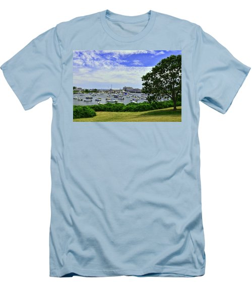 Wychmere Harbor Men's T-Shirt (Slim Fit) by Allen Beatty