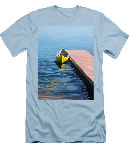 Yellow Canoe Men's T-Shirt (Athletic Fit)