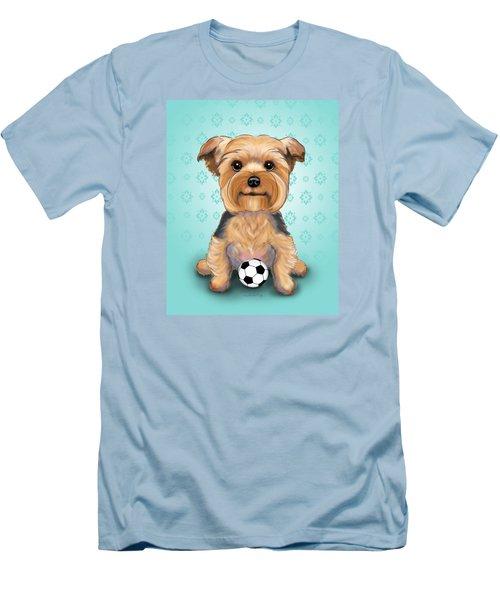 Yorkie  Baxter Hemenway Men's T-Shirt (Slim Fit) by Catia Cho